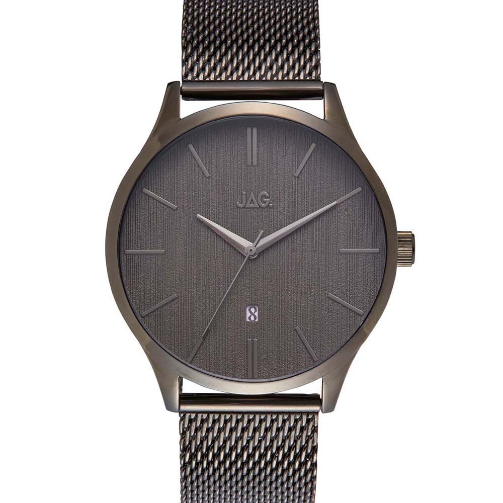 Jag Leroy J2280A Black Leather Mens Watch