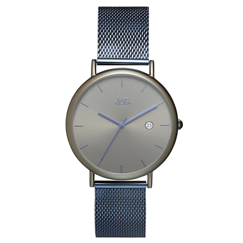 Jag Gents J2272A Blue Mesh Mens Watch