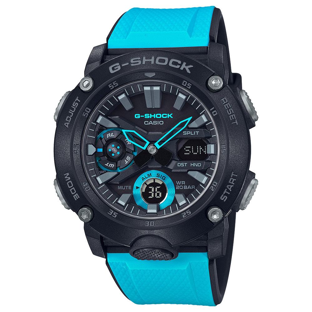 G-Shock Carbon Core Guard GA2000-1A2 Mens Watch