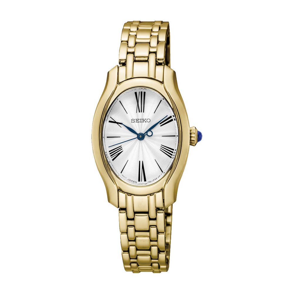 Seiko Analog Gold Tone Stainless Steel Ladies Watch