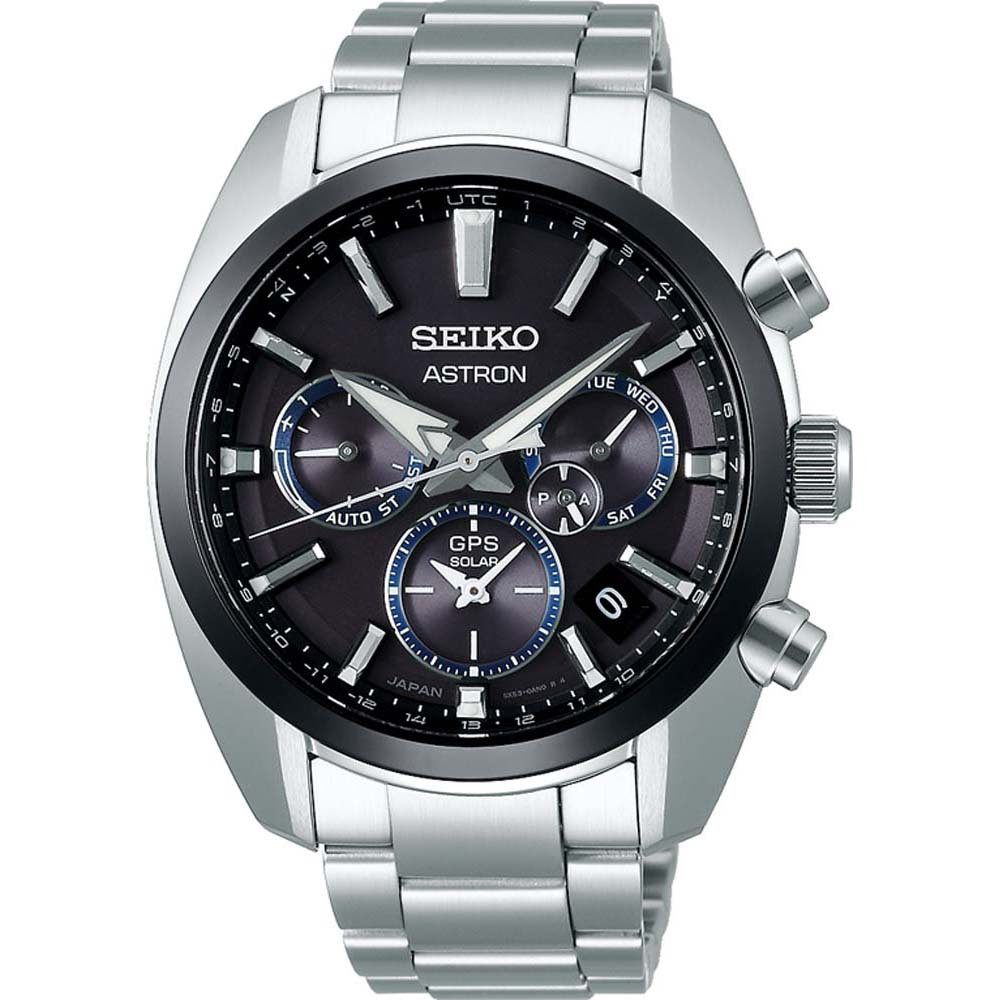 Seiko Astron SSH053J Chronograph Stainless Steel Mens Watch
