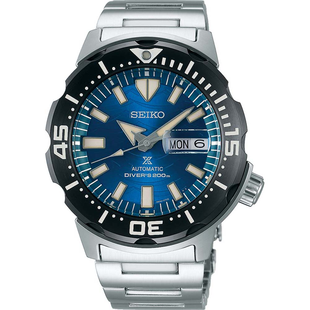 Seiko Prospesx SRPE09K Save The Ocean Speical Edition Stainless Steel Mens Watch