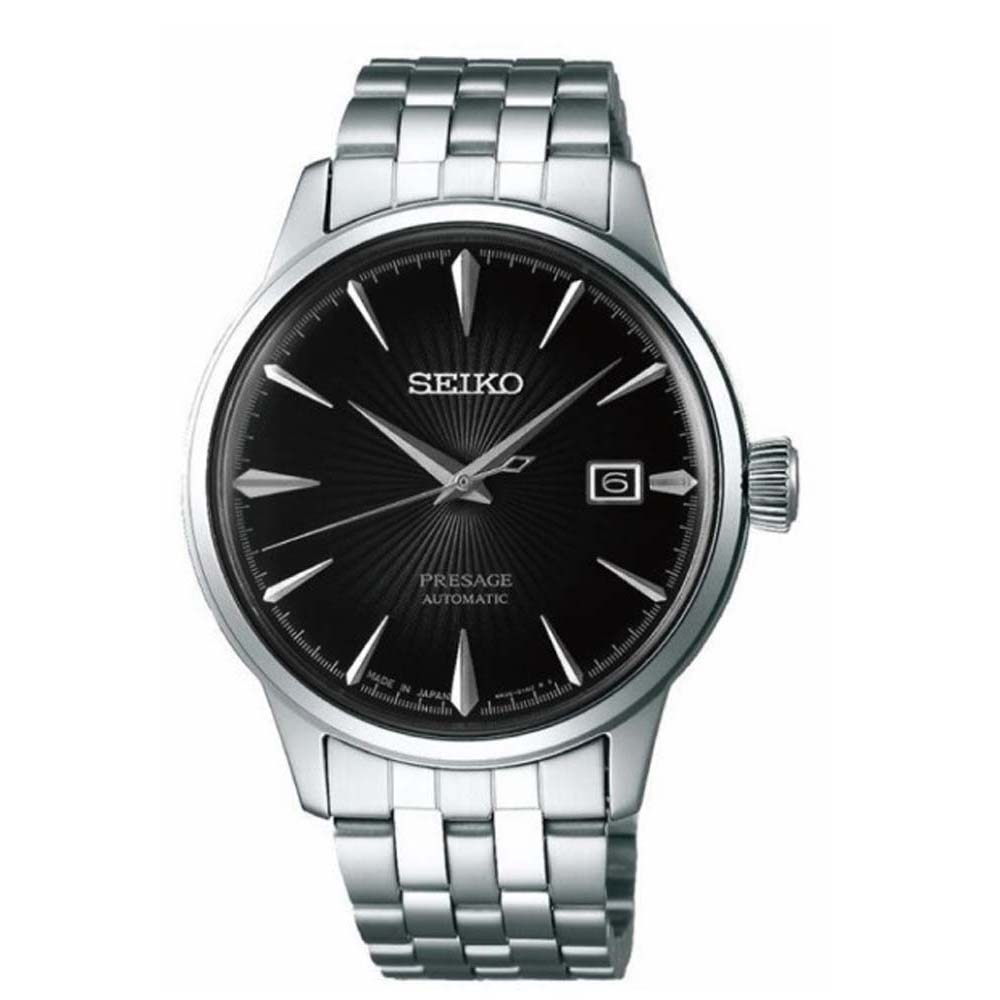 Seiko Presage SRPE17J Automatic Cocktail Time Stainless Steel Mens Watch