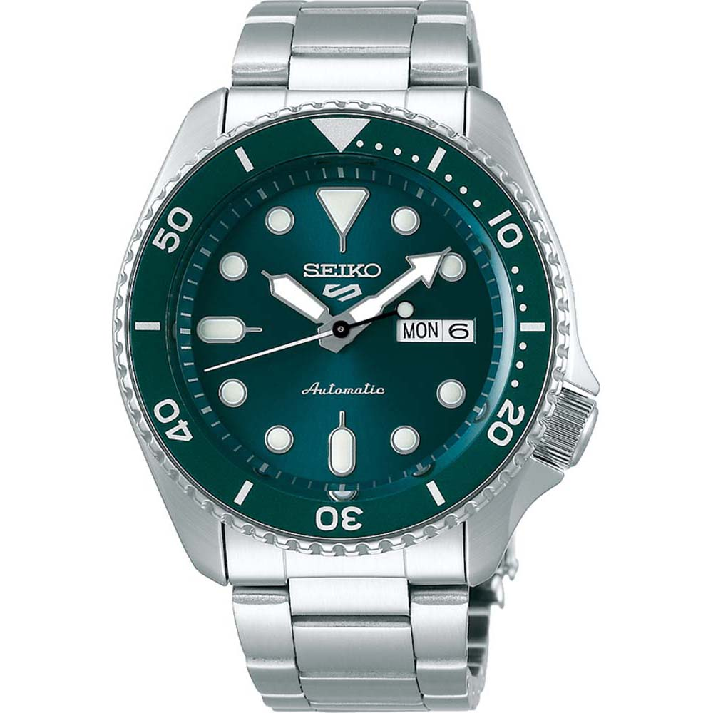 Seiko 5 SRPD61K Stainless Steel Mens Watch