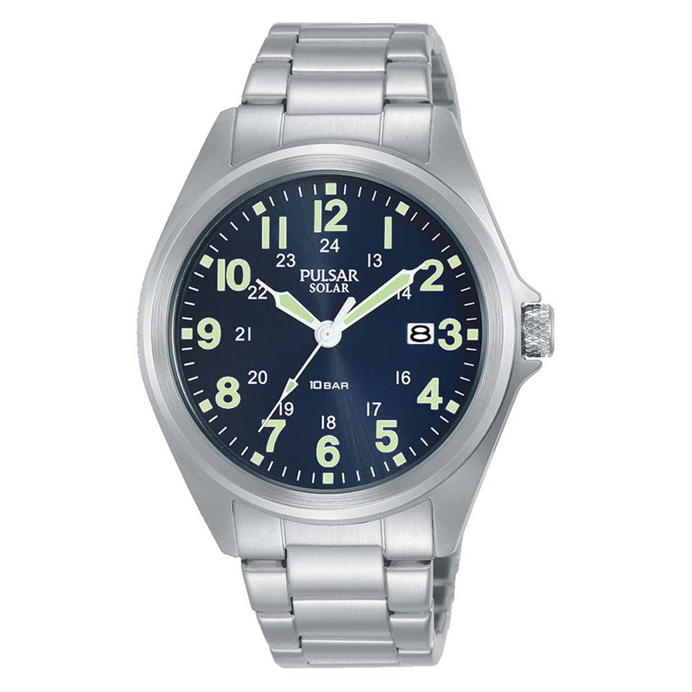 Pulsar Solar PX3217X Stainless Steel Mens Watch