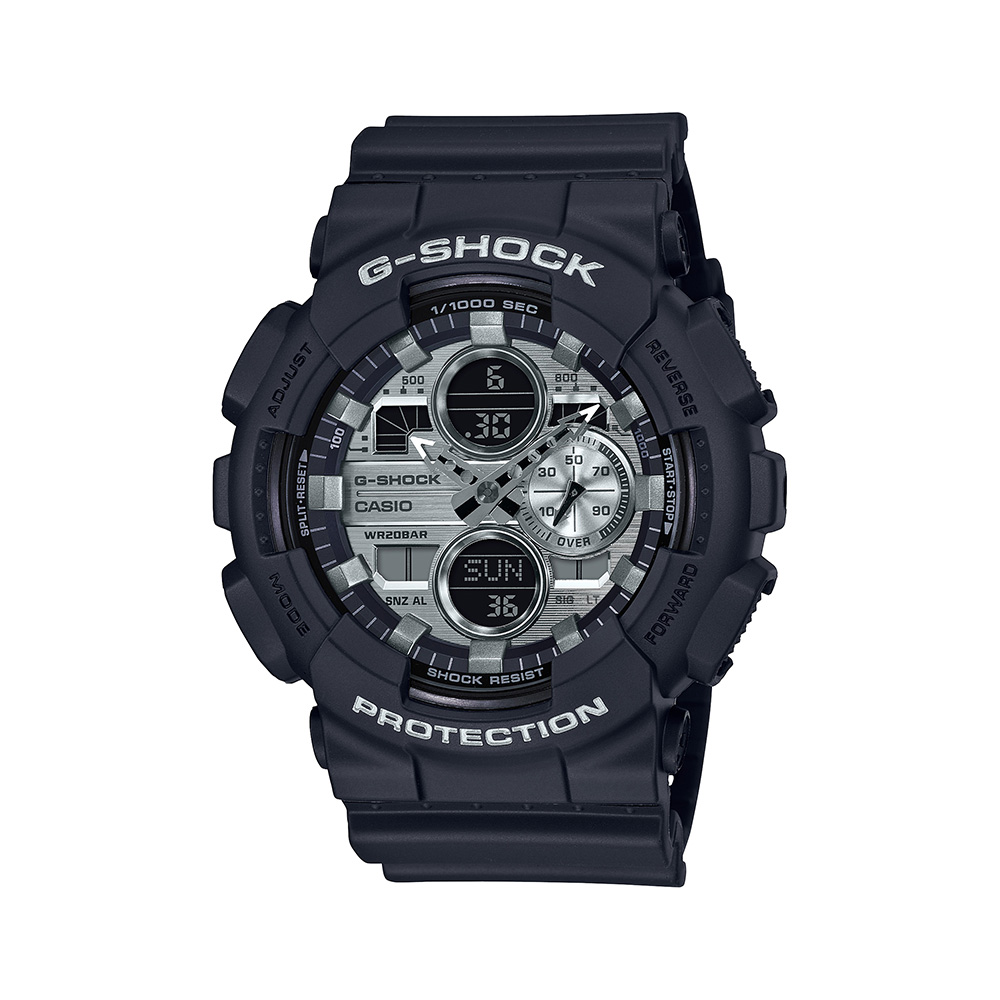Casio G-Shock GA-140GM-1A1DR Black Resin Mens Watch