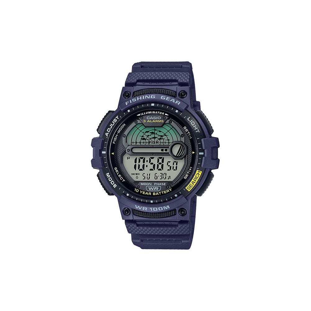 Casio WS1200H-2AV Fishing Time Moon Data Watch