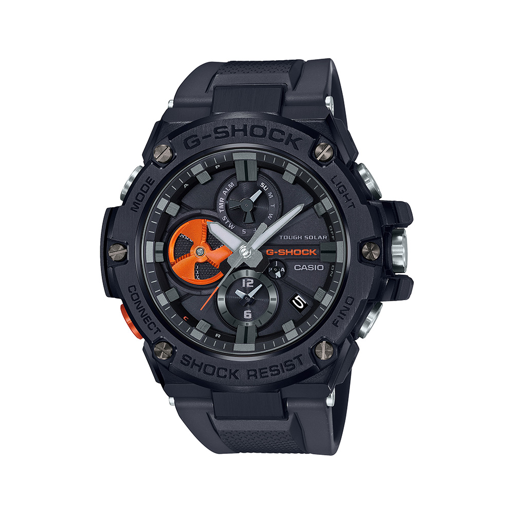 G-Shock G-Steel GSTB100B-1A4 Bluetooth Smartphone Bluetooth Link Mens Watch