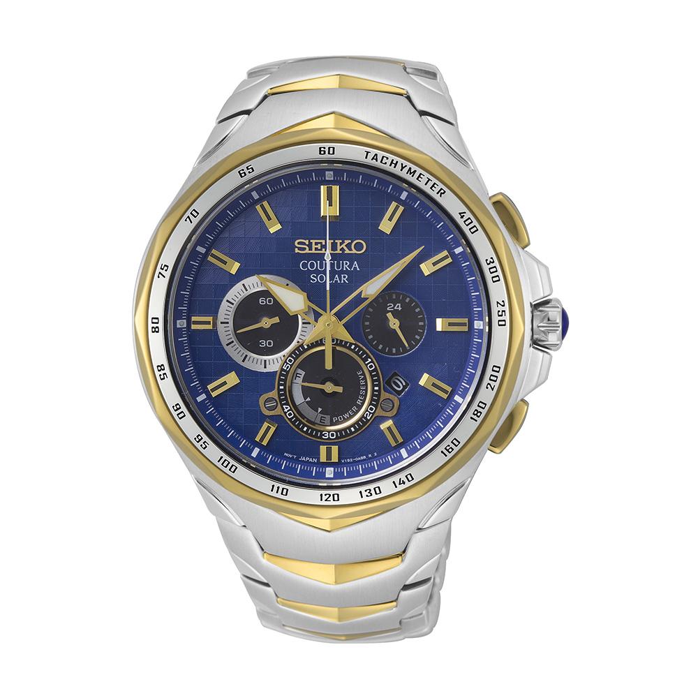 Seiko Coutura SSC750P Solar Chronograph Mens Watch