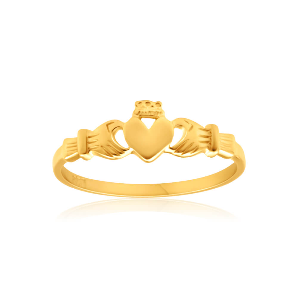 9ct Dazzling Yellow Gold Ring
