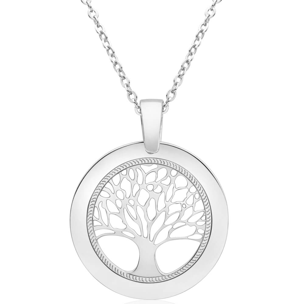 Sterling Silver Tree of Life 25mm Pendant