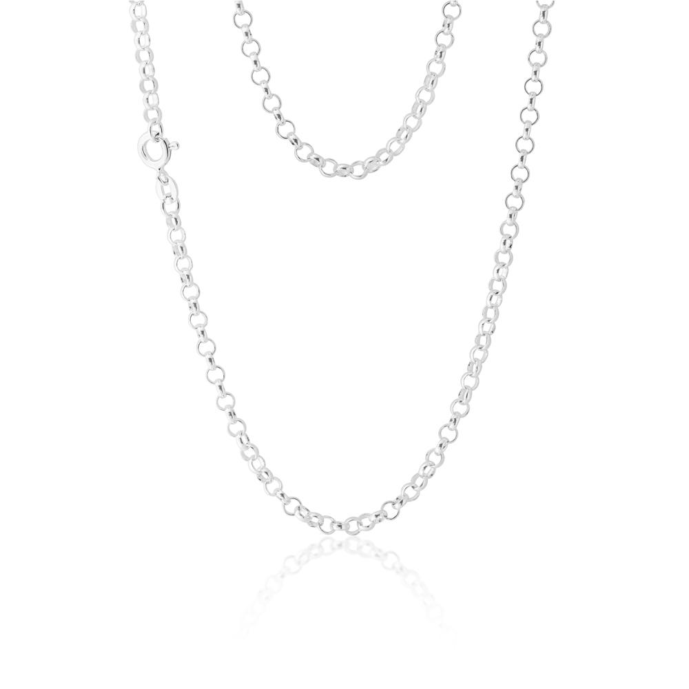 Sterling Silver 50cm Belcher Chain
