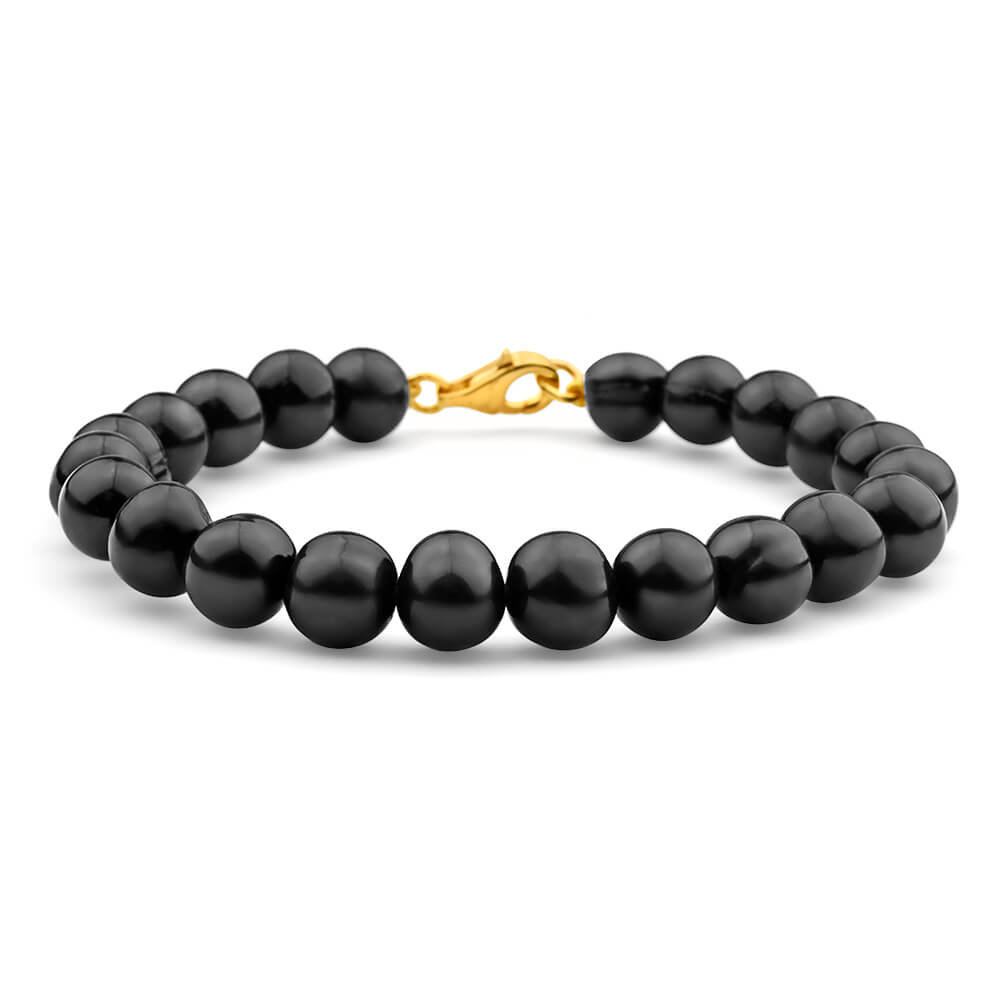 Black Freshwater 19cm Pearl Bracelet