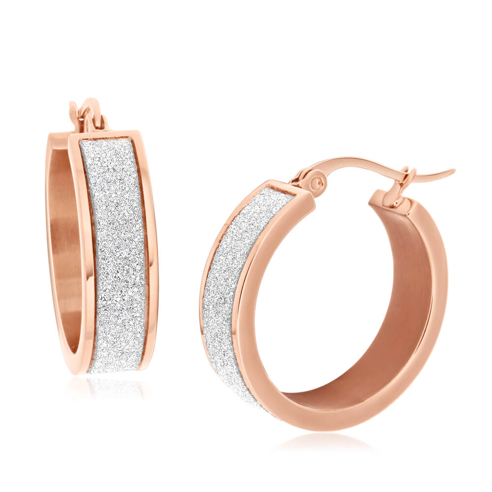 Stainless Steel Hoop Earrings