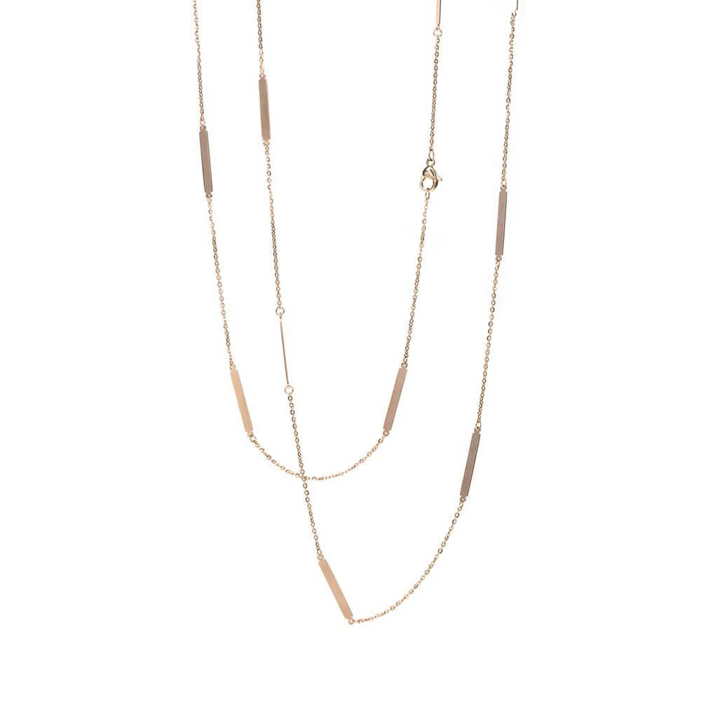 Pastiche Stainless Steel Fancy Chain