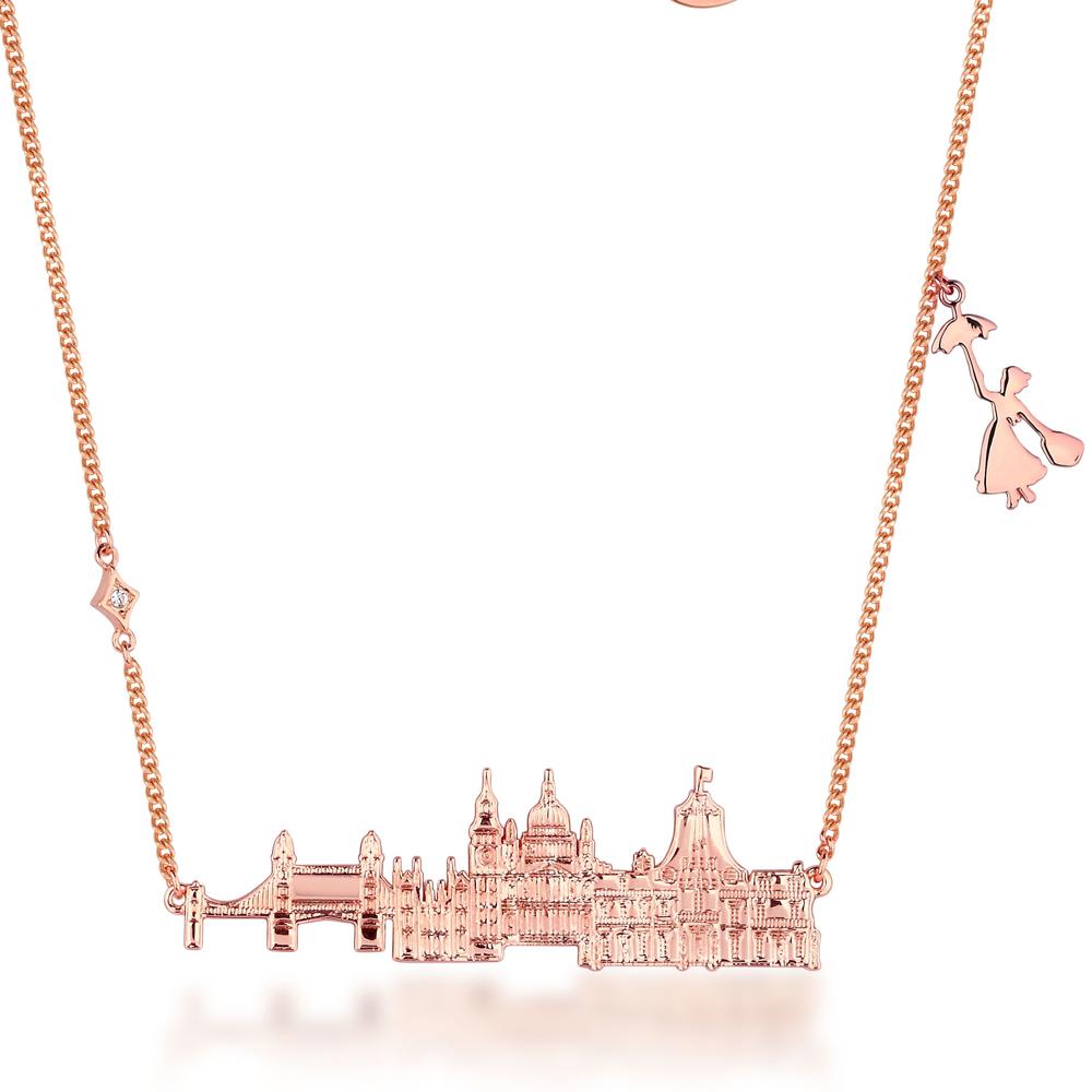 DISNEY Mary Poppins Cherry Tree Lane Necklace