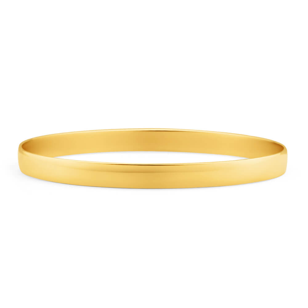 9ct Magnificent Yellow Gold Bangle