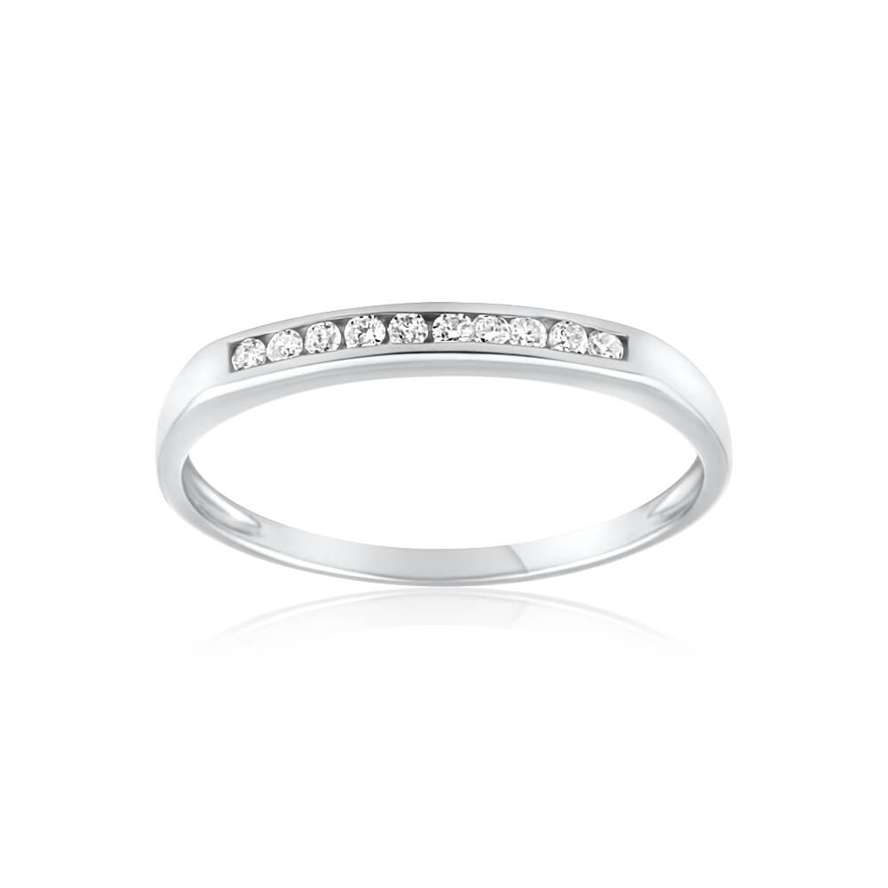 9ct White Gold Divine Diamond Ring
