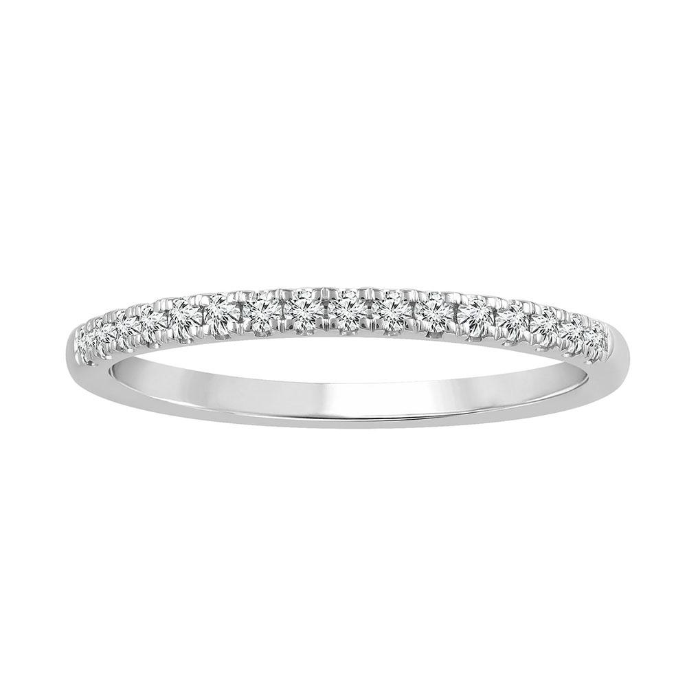 Platinum 0.15 Carat Diamond Eternity Ring
