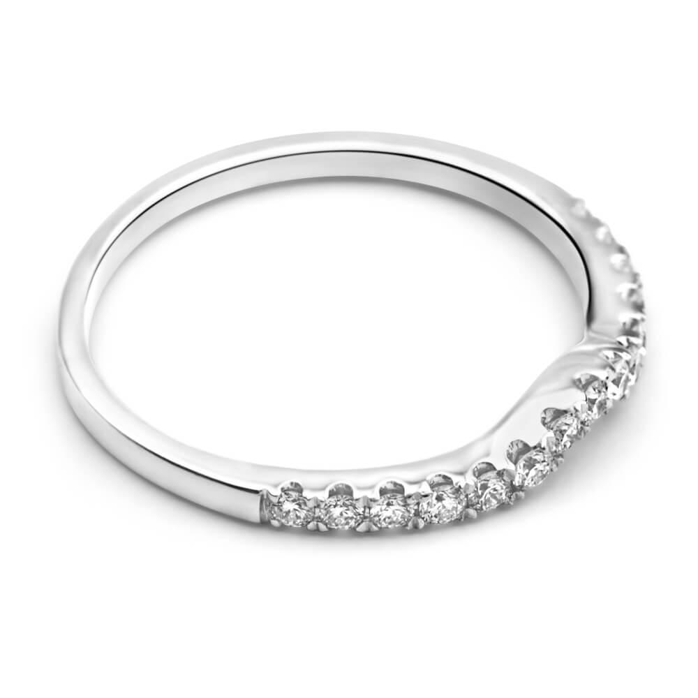 Flawless Cut 18ct White Gold Diamond Ring (TW=25pt)