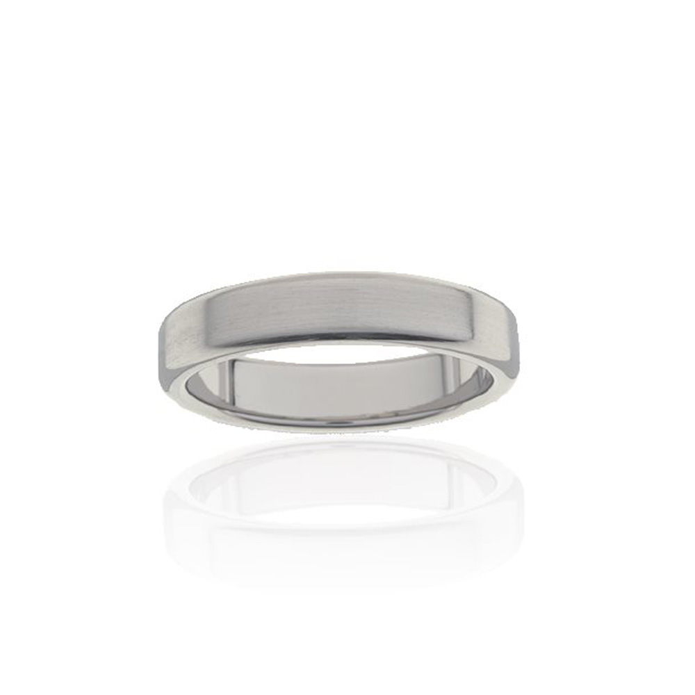 Flawless Cut Titanium 5mm Ring