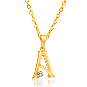 9ct Yellow Gold Pendant A