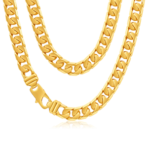 9ct Alluring Yellow Gold Curb Chain