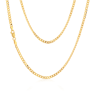 9ct Yellow Gold Enticing Curb Chain