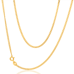 9ct Yellow Gold Delightful Curb Chain