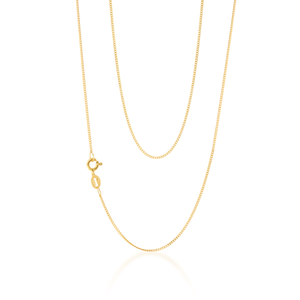 9ct Yellow Gold Stylish Curb Chain