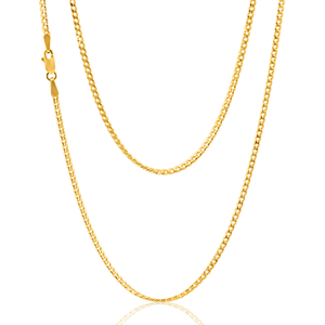 9ct Yellow Gold 45cm 60 Guage Curb Chain