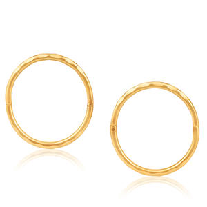 9ct Charming Yellow Gold Earrings