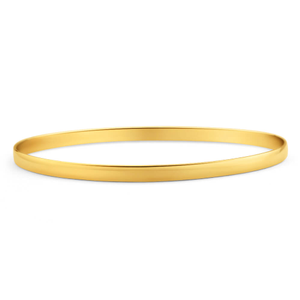 9ct Radiant Yellow Gold Bangle