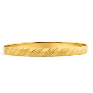 9ct Yellow Gold Divine Bangle