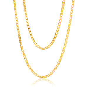9ct Superb Yellow Gold Anchor Chain