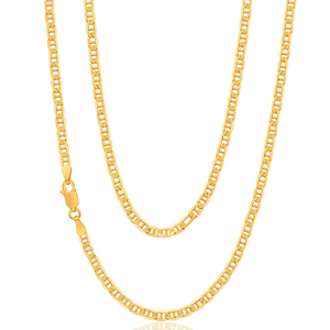 9ct Radiant Yellow Gold Anchor Chain