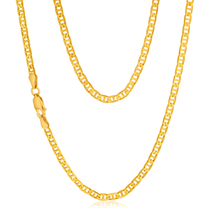 9ct Yellow Gold 80 gauge 60cm Anchor Chain