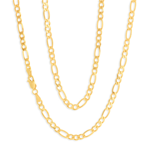 9ct Charming Yellow Gold Figaro Chain