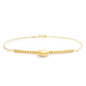 9ct Radiant Yellow Gold Fancy Bracelet