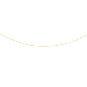 9ct Yellow Gold Dicut Balls 45cm Chain