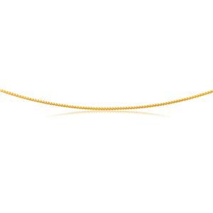 9ct Yellow Gold 55cm Chain 60 Guage