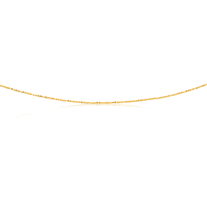 9ct Yellow Gold 50cm Chain 35 Guage 9y