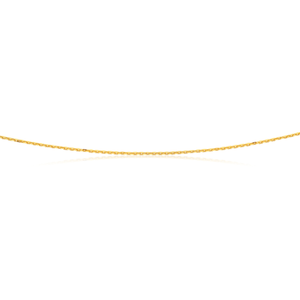 9ct Yellow Gold 50cm Curb Chain 40 Gauge