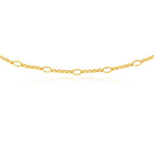 9ct Yellow Gold 45cm Belcher Chain