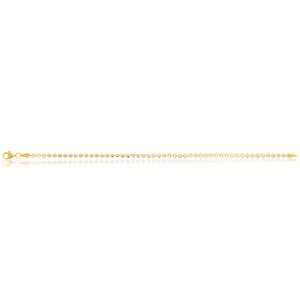 9Y Tennis Diamond Cut Bracelet 19cm