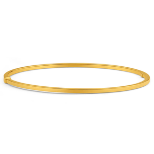 9ct Dazzling Yellow Gold Silver Filled Bangle