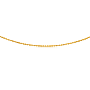 9ct Yellow Gold Filled Rope 50cm Chain 50 Gauge