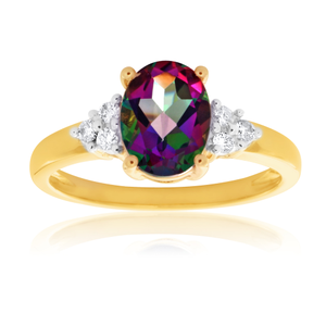 with product img black stone that opal topaz rainbow mystic rings store