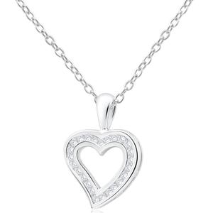 9ct White Gold Splendid Diamond Pendant