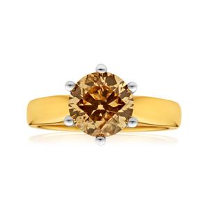 18ct Yellow Gold 2.00 Carat Australian Diamond Solitaire